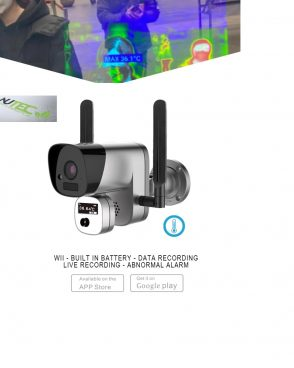 1080P Infrared Thermal Temperature WiFi Camera